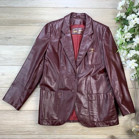 Etienne Aigner Jackets & Blazers - Etienne Aigner Leather Jacket